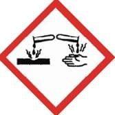 Danger - Causes severe skin burns and eye damage