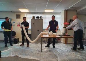 respiratory risks equipment