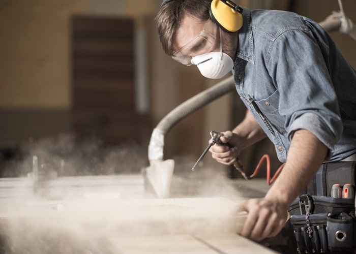 wood & other construction dusts
